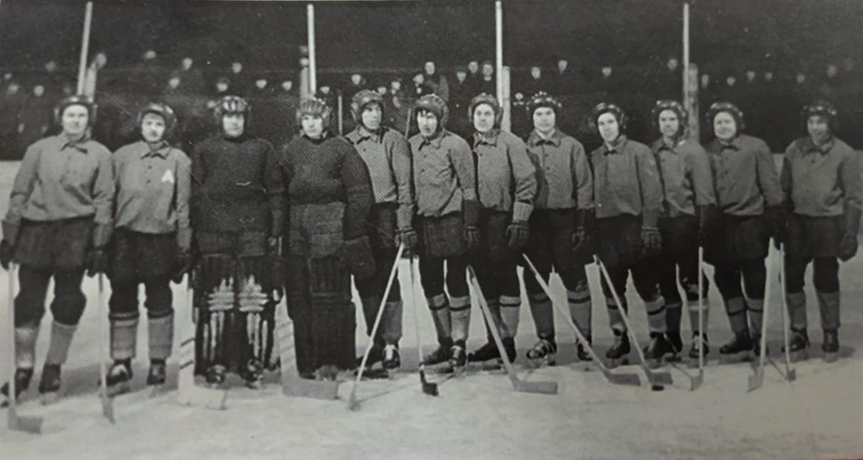 Команда завода 1955 года